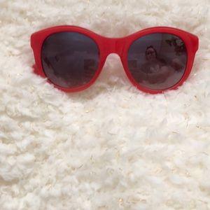 J.Crew Red Sunglasses